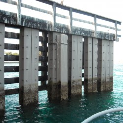 Marine - Structural Steel - H Pile Coating