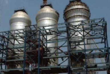 CC027: Polyglass VEF/VEHA Used to Protect Blast Furnace Stove Dome