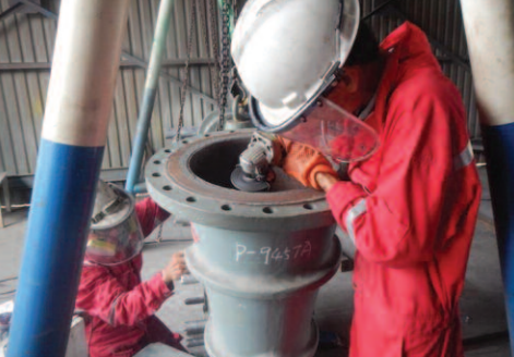REFURBISHMENT OF ABSORBER CIRCULATION PUMPS AND IMPELLERS